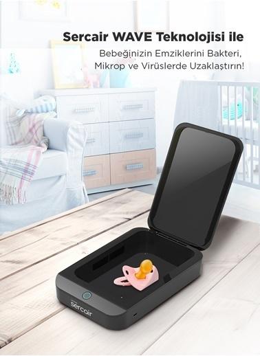 Sercair sercair Wave UV led şarj edilebilir şarj edilebilir sterilizasyon kutusu Siyah